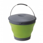 POP UP BUCKET WITH LID 9.5L